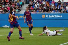 ¡Nueve goles! El Barcelona arrasa al Tacón en el estreno liguero (9-1)