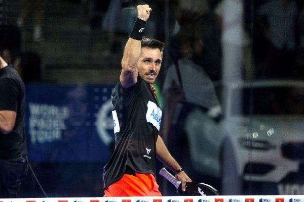 GRAF7813. MADRID.- El jugador Fernando <HIT>Belasteguín</HIT> celebra...