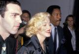 Con su hermano Christopher n el 'after party' del lanzamiento del disco, en 1989 en el Park Plaza de Nueva York.