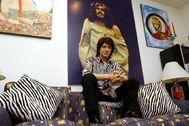 Camilo Sesto en su casa, en el año 2002.