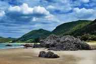 Playa de Noja (imagen de archivo)