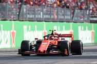 Charles Leclerc toma el relevo de Fernando Alonso y lleva el delirio a Monza
