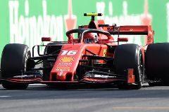 Leclerc toma el relevo de Alonso y lleva el delirio a Monza
