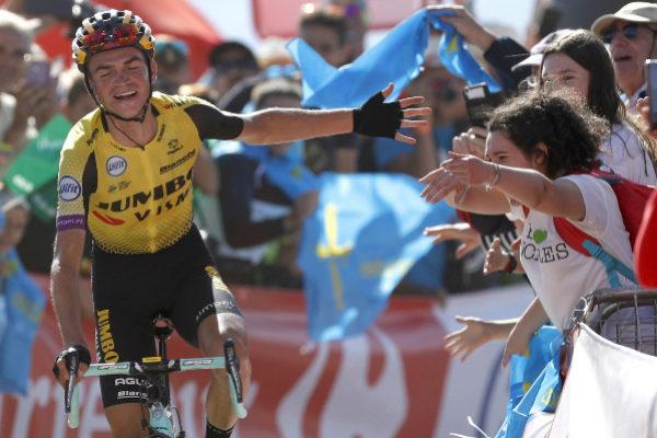GRAF8526. SANTUARIO DEL ACEBO (ASTURIAS).- El ciclista norteamericano...