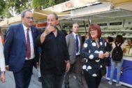 Torra en la inauguración de la 37 Setmana del Llibre en Català hace unos días