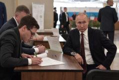 Vladimir Putin bloquea a la oposición en las elecciones