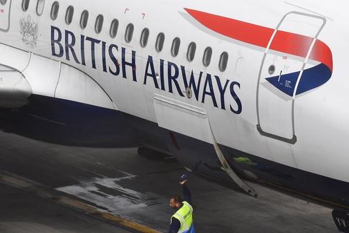 British Airways cancels almost 100% of its flights in the