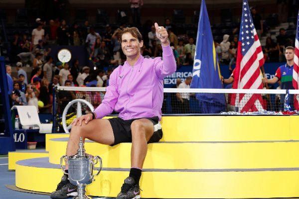 New York (United States), 08/09/2019.- Rafael <HIT>Nadal</HIT> of...