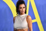 Kim Kardashian en una entrega de premios de moda.