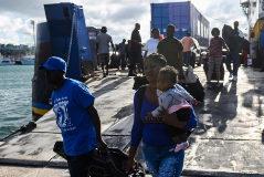 Balearia desembarca a 119 supervivientes del huracán  Dorian al carecer de visado