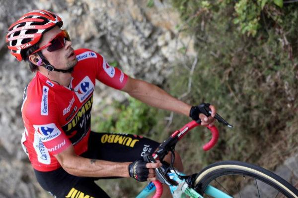 El ciclista esloveno y líder de la Vuelta a España 2019, Primo...