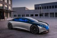Mercedes-Benz Vision EQS: una futura berlina eléctrica de 700 km. de autonomía