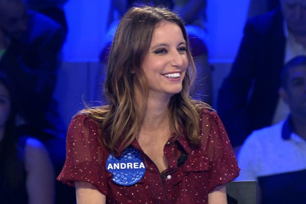 Andrea Levy en su debut en Pasapalabra en Telecinco