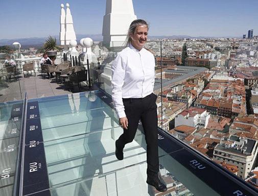 Madrid Toca El Cielo Con El Hotel Riu Plaza De España Madrid