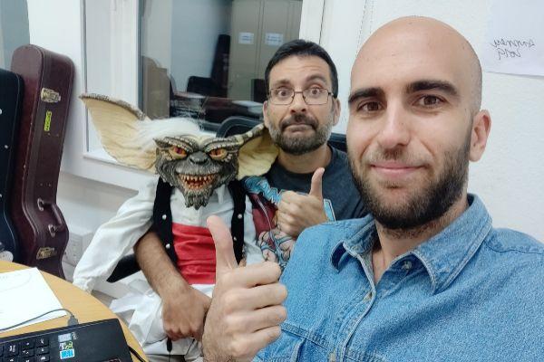 Salva Espín con Álex Pinacho de La Resistencia, programa que volvió...