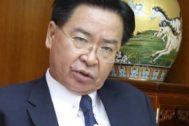 El titular de Exteriores de Taiwan, Joseph Wu.