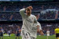 Imagen incluida en la docu-serie 'El corazón de Sergio Ramos'.