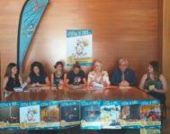 Lomi Szil, centro, junto a los representantes de las distintas administraciones.