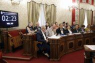 El pleno municipal del pasado lunes.