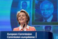 La próxima presidenta de la Comisión, Ursula Von der Leyen.