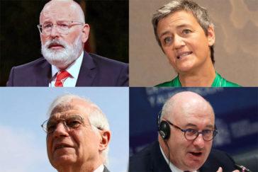 Los rostros de la Comisión Europea de Ursula von der Leyen