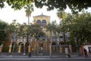 Fachada principal del Colegio Jardines del Valle de Sevilla.