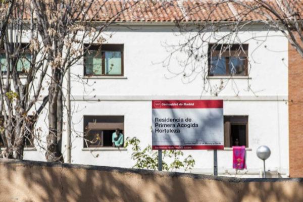 El centro para menores extranjeros no acompañados de Hortaleza.