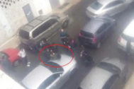 Ana Julia Quezada, en el momento de su detención cuando transportaba el cadáver de Gabriel Cruz en su coche.