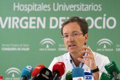 El portavoz del gabinete de crisis de la listeria, José Miguel Cisneros.