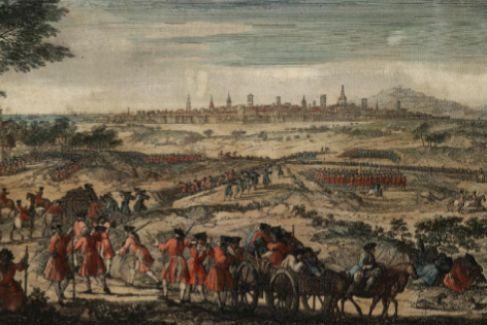 'Apertura de la zanja', de Jacques Rigaud, retrata el asedio borbónico a Barcelona.