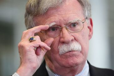 Minsk (Belarus).- (FILE) - US National Security Advisor <HIT>John</HIT> <HIT>Bolton</HIT> speaks to media at the Palace of Independence in Minsk, Belaru, 29 August 2019 (Reissued 10 September 2019). Trump tweeted on 10 September 2019 that he asked his national security advisor <HIT>John</HIT> <HIT>Bolton</HIT> to resign and that he will name a new advisor on the following week. (Incendio, Bielorrusia, Estados Unidos) EPA/ *** Local Caption *** 55425122