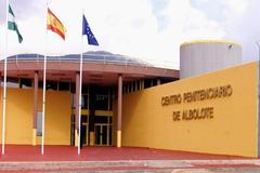 Entrada del Centro Penitenciario de Albolote, en Granada.
