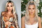 A la izquierda, Paula González. A la derecha, Khloé Kardashian.