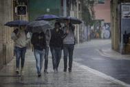 Gota fría en la Comunidad Valenciana el pasado octubre.