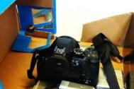 La cámara oculta en una caja de zapatos que permitía al profesor tomar las imágenes sin conocimiento de sus víctimas.