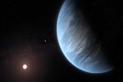 Detectan por primera vez agua en un exoplaneta de clima templado