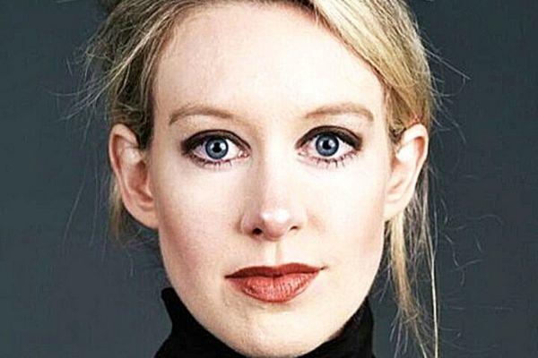 Elizabeth Holmes, acusada de estafa millonaria.