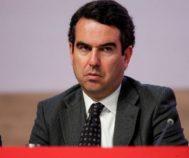 Javier Botín durante la última Junta General de Accionistas del Santander