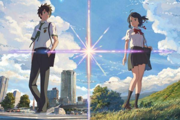 Los protagonistas de 'Your Name' (2016), el 'anime' más taquillero de la historia.