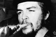 Collage de Luis Parejo sobre una imagen del Che Guevara.