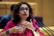 La ministra de Hacienda en funciones, María Jesús <HIT>Montero</HIT>.