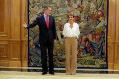 ¿Rechazo de Chivite a la Casa Real?