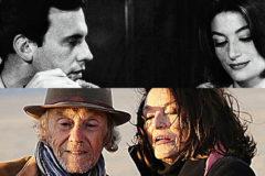 Jean-Louis Trintignant y Anouk Aimée, en 'Un hombre y una mujer' y en 'Los años más bellos de una vida'.