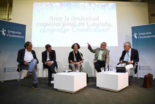 Coloquio con Ana Palacio, Fernando Savater, Francesc de Carreras y...