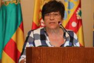 María Jesús Garrido, concejala de CSeM encargada de Vivienda y  ex portavoz de la Plataforma Antidesahucios.