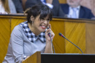 Teresa Rodríguez, en una imagen del pasado mes de enero.