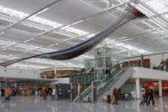 Una imagen del interior del aeropuerto de Múnich.