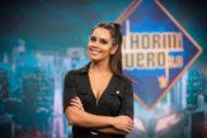 Cristina Pedroche en El Hormiguero, cuyo debut ha sido muy criticado en las redes sociales