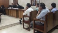 Los hermanos Ruiz Mateos escuchan las conclusines del fiscal.
