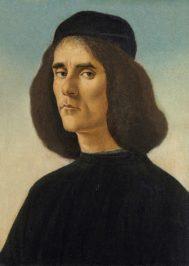 'Retrato de Michele Marullo Tarcaniota', de Botticelli.